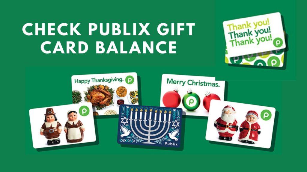 check publix gift card balance