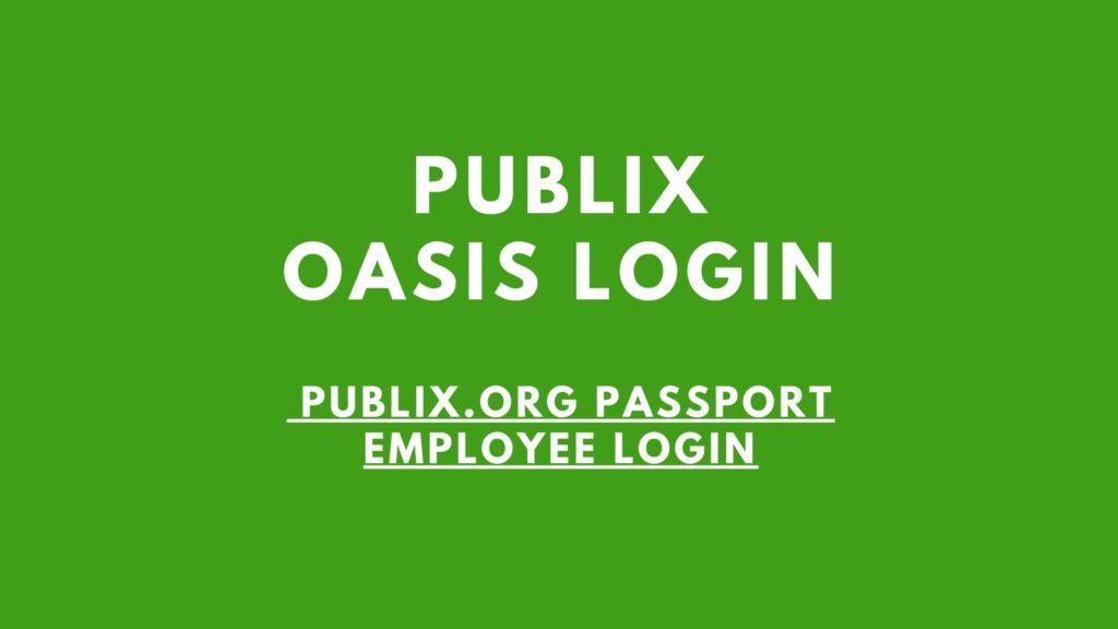 publix oasis