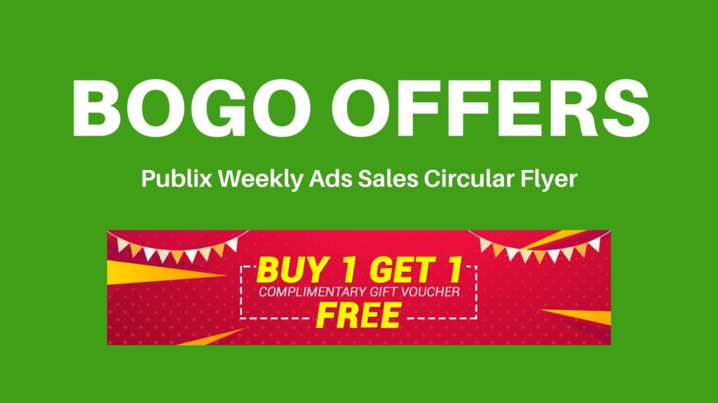 publix weekly ad bogo offers